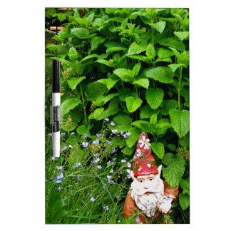 Garden Gnome Dry-Erase Whiteboards