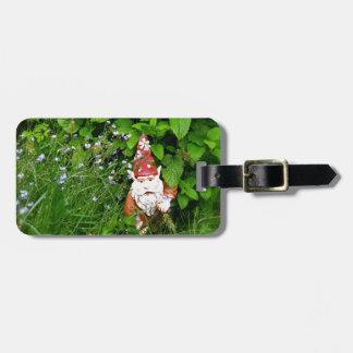 Garden Gnome Travel Bag Tags