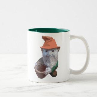 Garden Gnome Two-Tone Coffee Mug