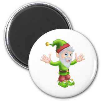 Garden gnome or elf magnets