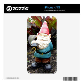 Garden Gnome Skin For iPhone 4S