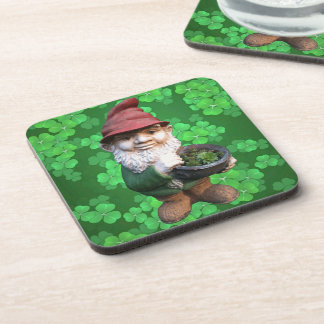Garden Gnomes Beverage Coaster