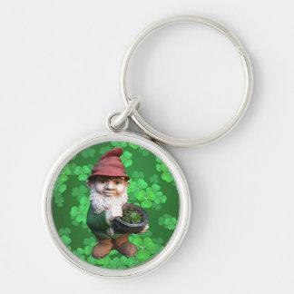 Garden Gnomes Keychain