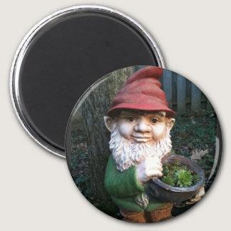 Garden Gnomes Magnet