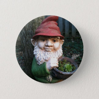 Garden Gnomes Pinback Button