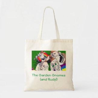 Garden Gnomes tote bag