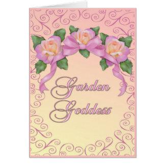 Garden Goddess Card