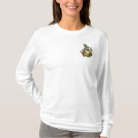 Garden Goddess Embroidered Long Sleeve T-Shirt