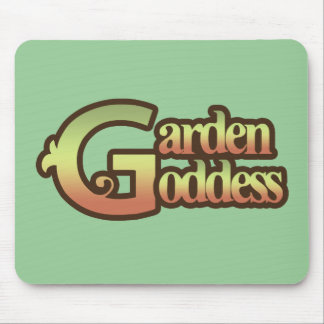 Garden Goddess Mouse Pad