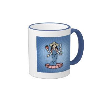 Garden Goddess Coffee Mug