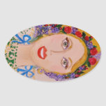 Garden Goddess Sticker