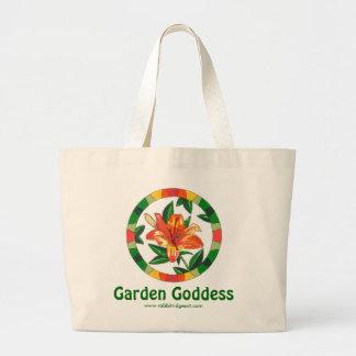 Garden Goddess Tote Canvas Bags