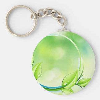 Garden Green Keychain