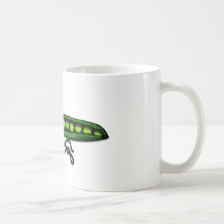 Garden Green Pea Pods Mugs