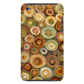 Garden Greens Abstract  Art Painting iPod Touch Cover