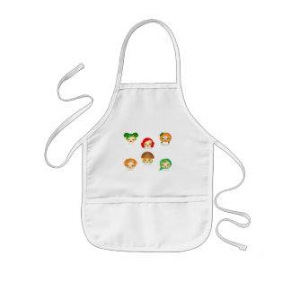 Garden Greens Kids' Apron