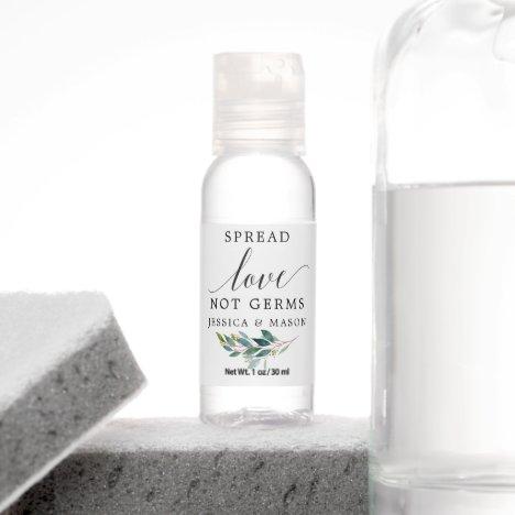 Garden Greens Spread Love Not Germs Hand Sanitizer