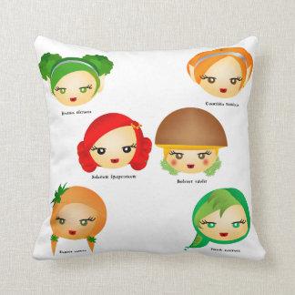 Garden Greens Throw Pillows