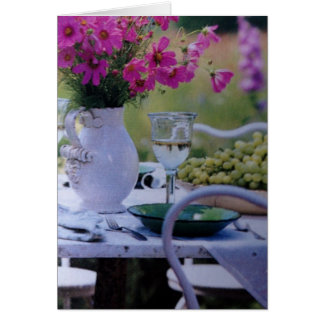 GARDEN GREETINGS TO WISH YOU WELL CARD