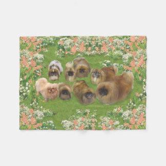 Garden Group Fleece Blanket