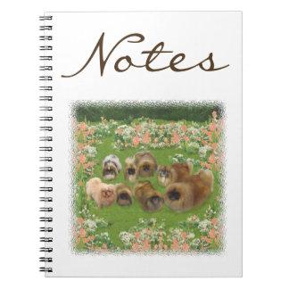 Garden Group Spiral Notebooks