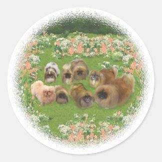 Garden Group Classic Round Sticker