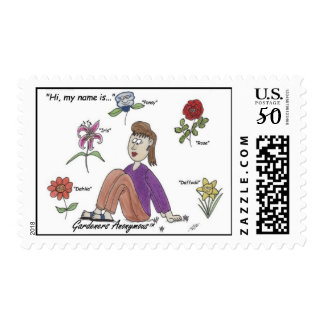 Garden Group Therapy Stamps