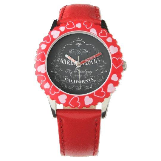 Garden Grove, California - Big Strawberry Watches