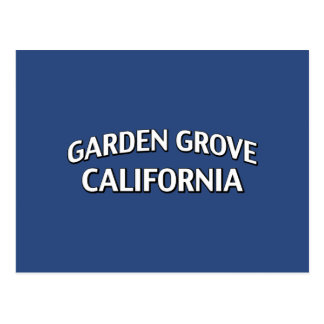 Garden Grove California Postcard