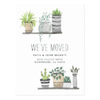 Garden Grown | Moving Announcement Postcard