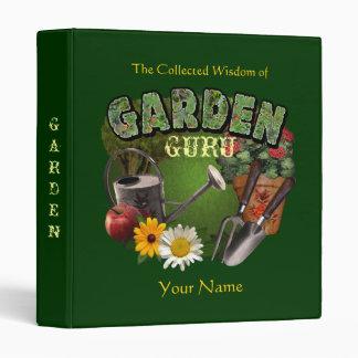 Garden Guru Binder