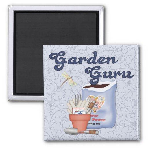 Garden Guru Refrigerator Magnets