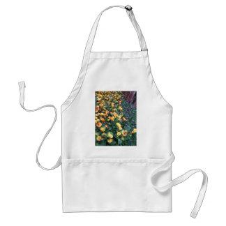 GARDEN Happiness: Flowers Golden Yellow Charm FUN Adult Apron