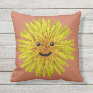 Garden Happy Yellow Dandelion Flower 2 in 1