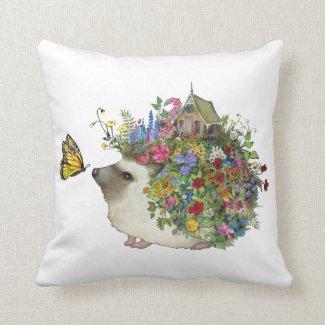 Garden Hedgehog Pillow