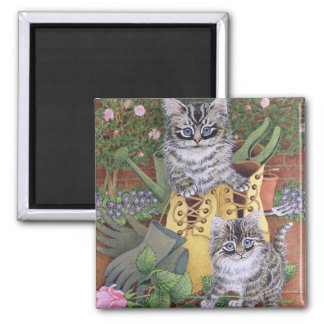 Garden Helpers 2 Inch Square Magnet