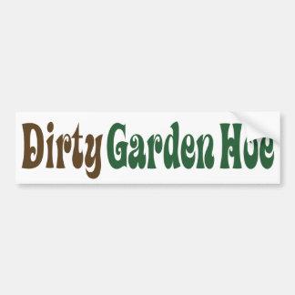 Garden Hoe - Customized Bumper Stickers
