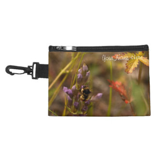 Garden HoneyBee; Customizable Accessory Bag