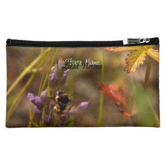 Garden HoneyBee; Customizable Cosmetic Bag