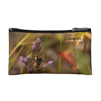 Garden HoneyBee; Customizable Cosmetics Bags