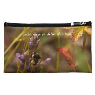 Garden HoneyBee; Customizable Makeup Bags