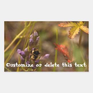 Garden HoneyBee; Customizable Stickers