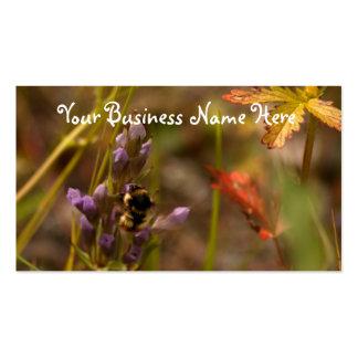 Garden HoneyBee Double-Sided Standard Business Cards (Pack Of 100)