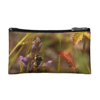Garden HoneyBee; No Text Cosmetic Bag