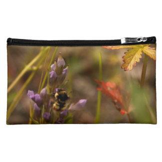 Garden HoneyBee; No Text Makeup Bags