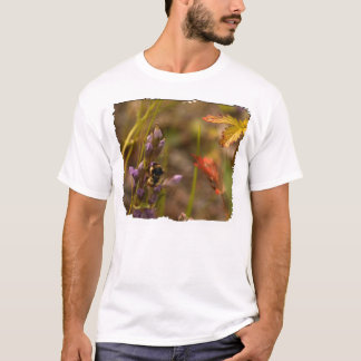 Garden HoneyBee; No Text T-Shirt