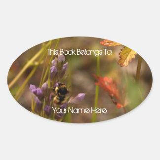 Garden HoneyBee Sticker