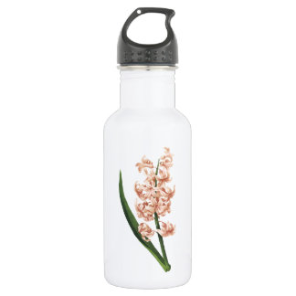garden hyacinth(Hyacinthus orientalis) by Redouté Stainless Steel Water Bottle