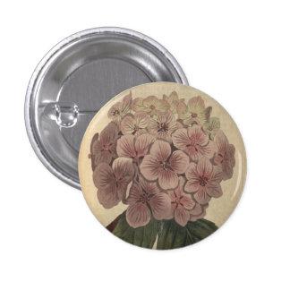 Garden Hydrangea Button
