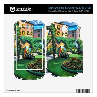 Garden image by August Macke Samsung Epic Skins